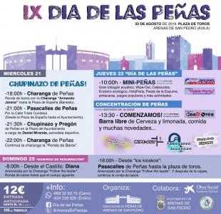 IX Día de las Peñas en Arenas de San Pedro - TiétarTeVe