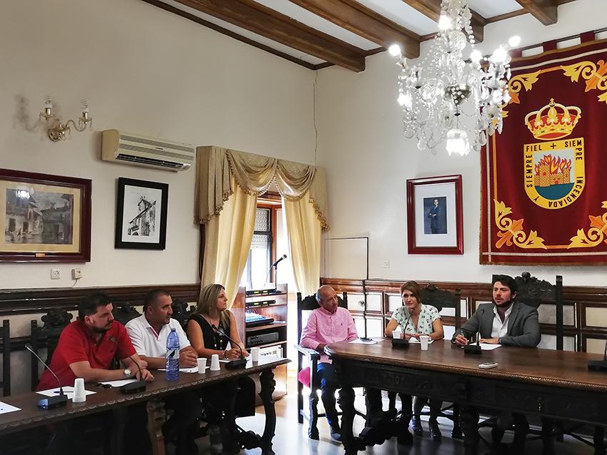 Pleno Parque Comarcal Bomberos - Arenas de San Pedro - TiétarTeVe