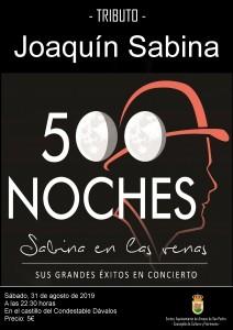 Tributo a Joaquín Sabina en Arenas de San Pedro - TiétarTeVe