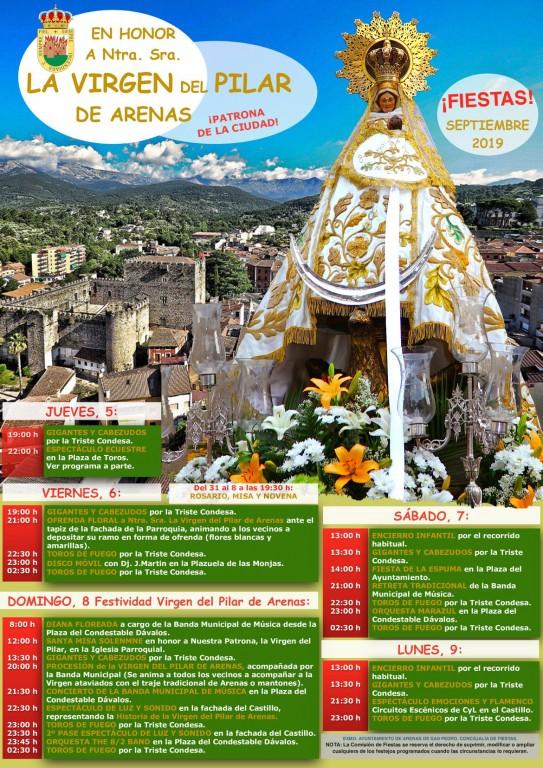 Fiestas del Pilar - Arenas de San Pedro - TiétarTeVe