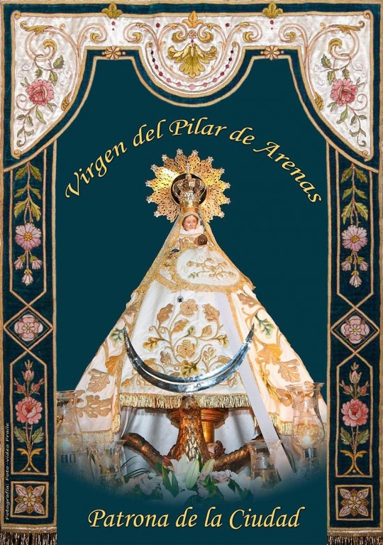 Virgen del Pilar de Arenas - Arenas de San Pedro - TiétarTeVe