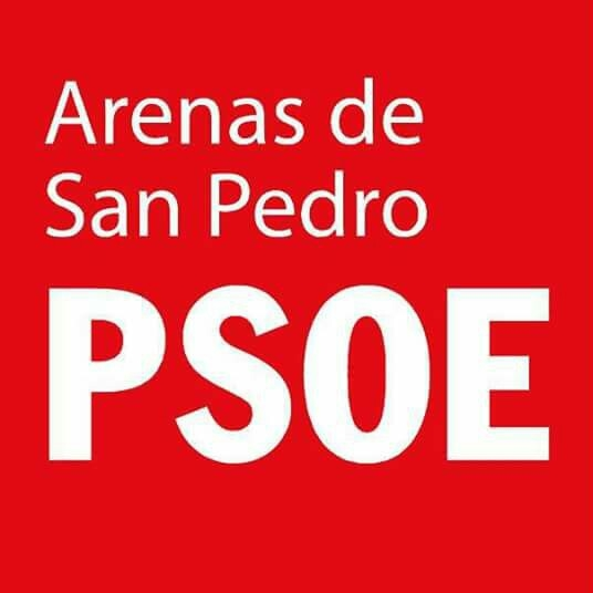 Logo PSOE Arenas de San Pedro - TiétarTeVe