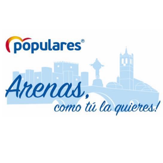 Logo Partido Popular Arenas de San Pedro - TiétarTeVe