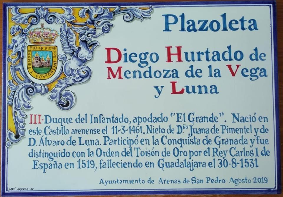 Plazoleta Diego Hurtado de Mendoza - Arenas de San Pedro - TiétarTeVe