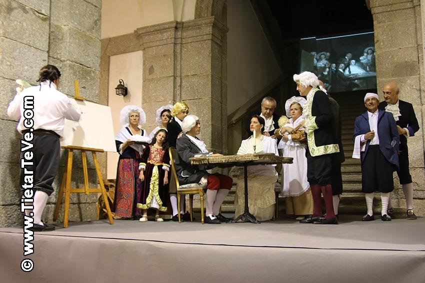 Representación del Cuadro de Goya - Arenas de San Pedro - TiétarTeVe