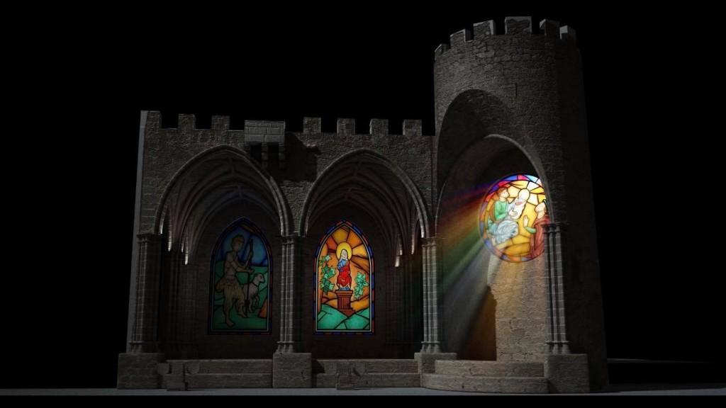 Espectáculo de Luz y Sonido - Arenas de San Pedro - TiétarTeVe