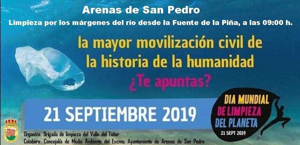 Día de la Limpieza Mundial - Arenas de San Pedro - TiétarTeVe
