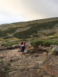 V Ultra de Gredos - Heras corriendo - Arenas de San Pedro - TiétarTeVe