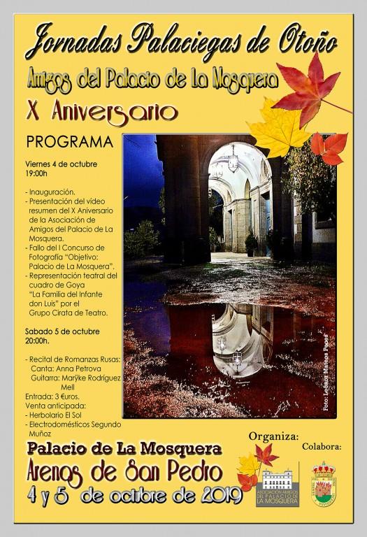 Jornadas Palaciegas de Otoño - Asociación de Amigos del Palacio de La Mosquera - Arenas de San Pedro - TiétarTeVe