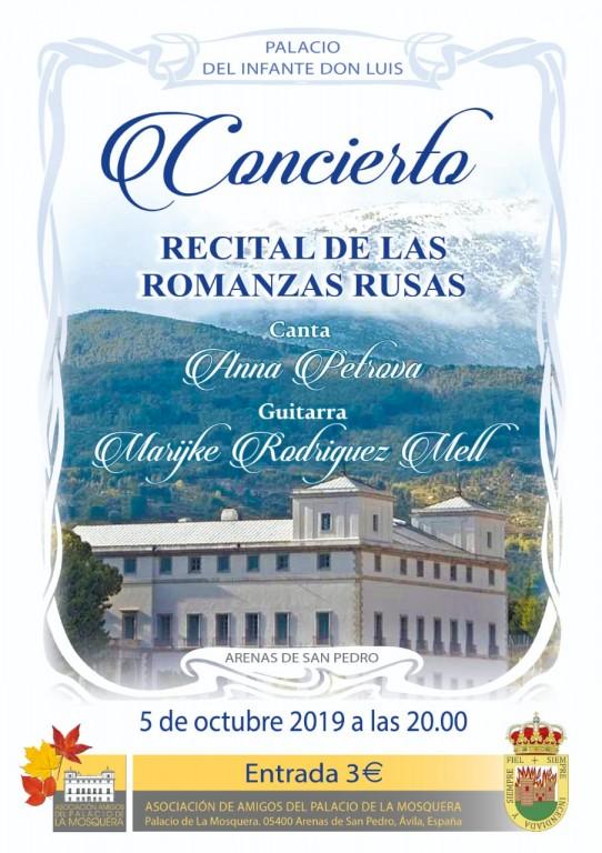 Jornadas Palaciegas de Otoño - Recital Romanzas Rusas - Arenas de San Pedro - TiétarTeVe