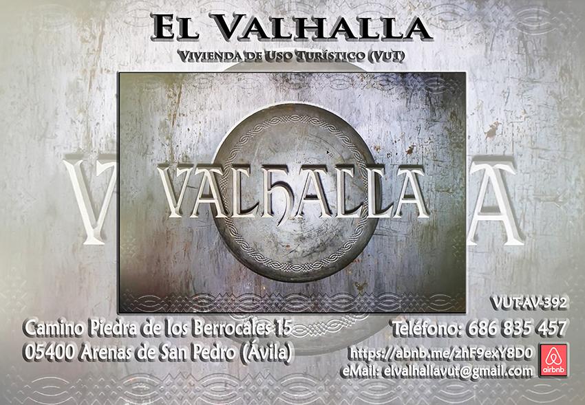 El Valhalla (Tarjeta) - Vivienda de Uso Turístico - VUT - TiétarTeVe