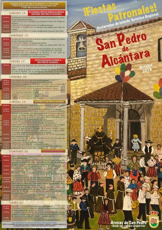 Fiestas en honor a San Pedro de Alcántara 2019 - Arenas de San Pedro - TiétarTeVe