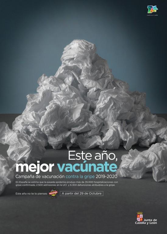 Campaña vacunación frente a la gripe 2019 en CyL - TiétarTeVe