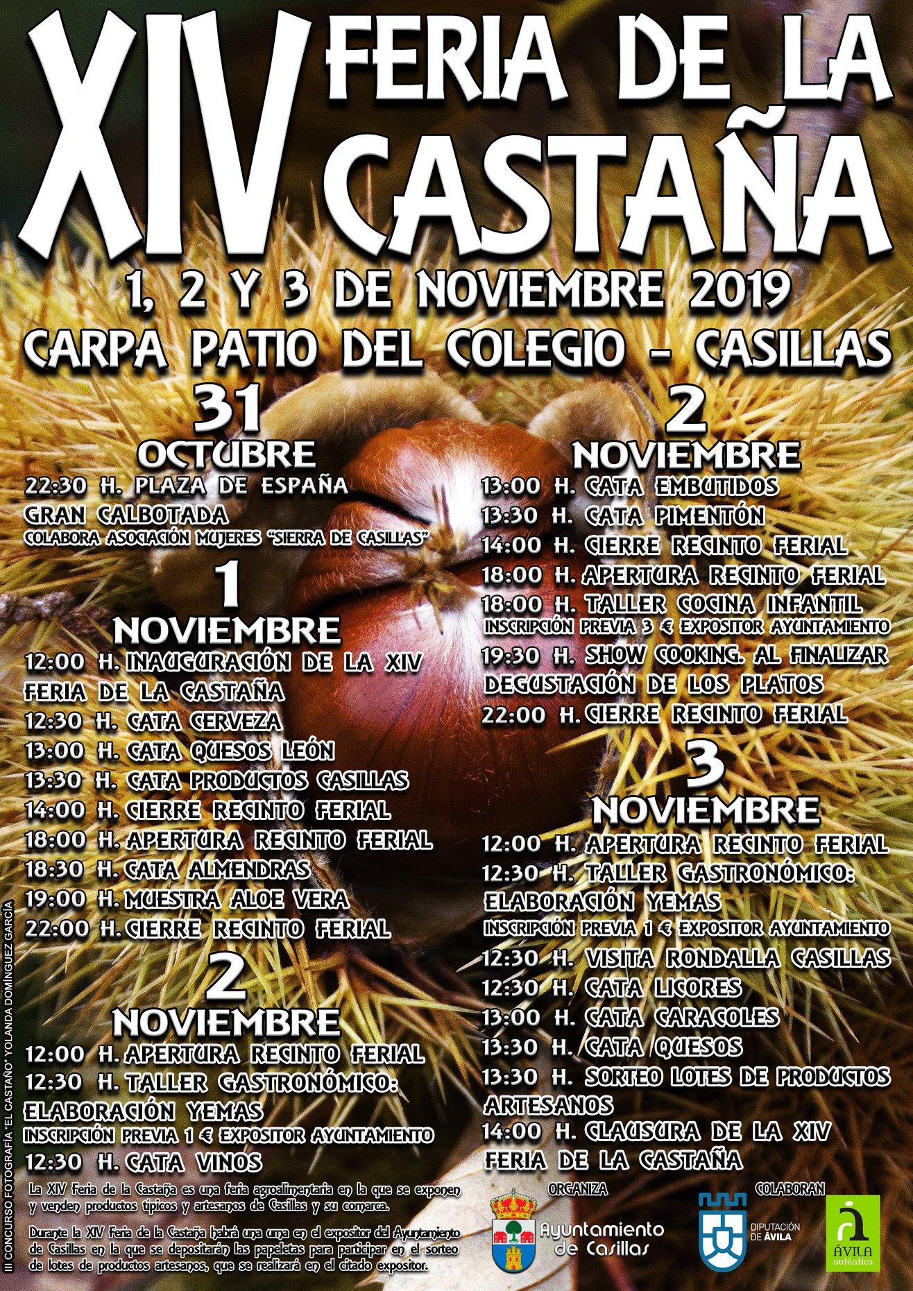 Feria de la Castaña - Casillas - TiétarTeVe