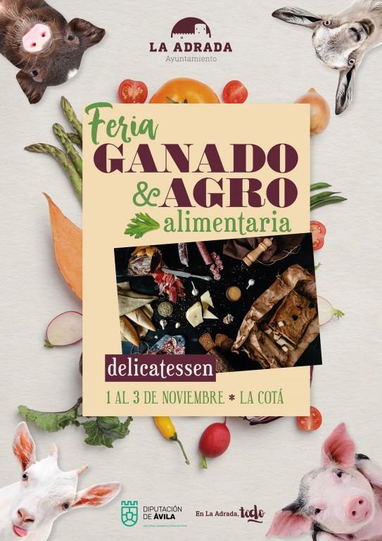Feria Ganado y Agro en La Adrada - TiétarTeVe