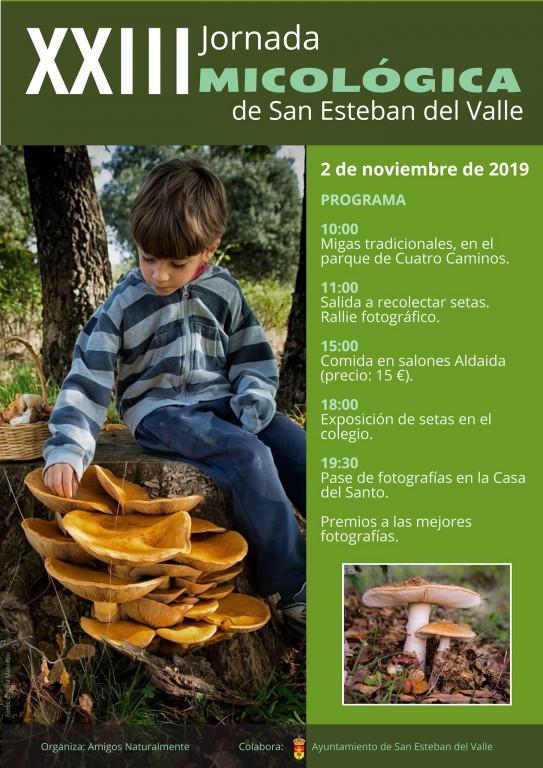 Jornadas Micológicas - San Esteban del Valle - TiétarTeVe