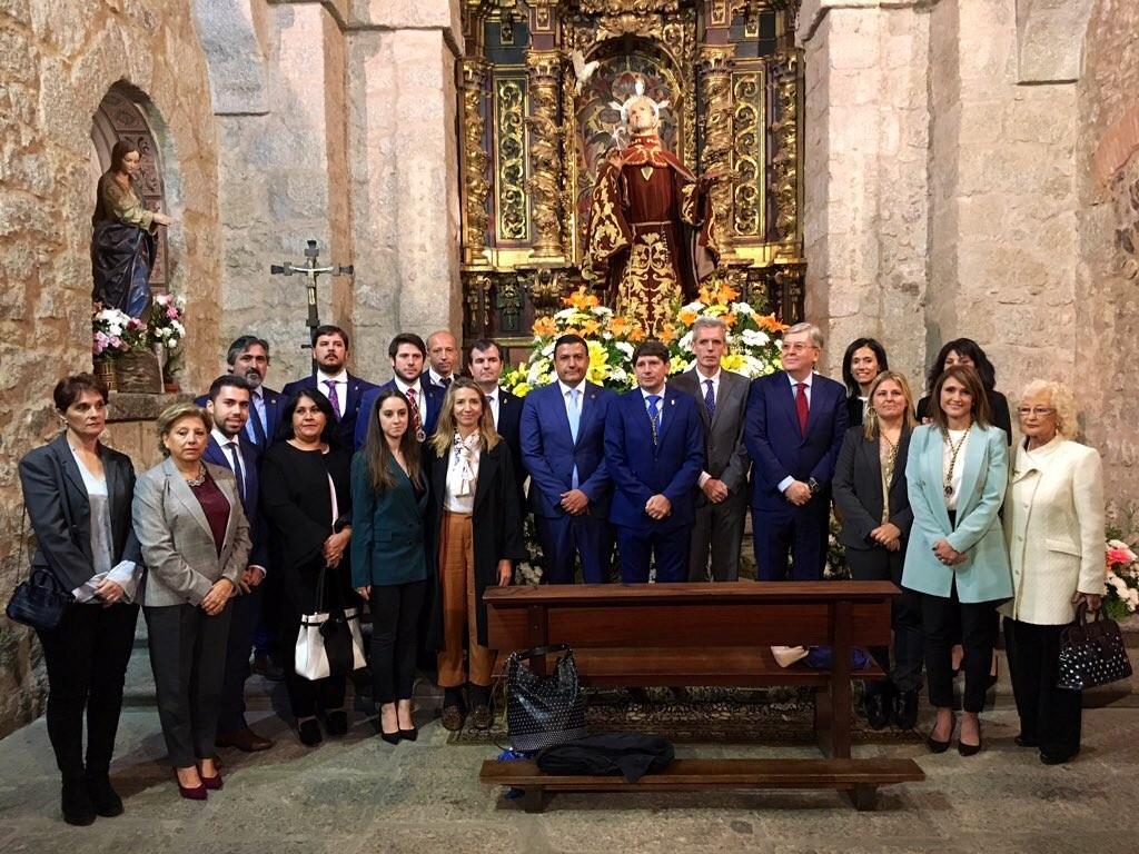Candidatos del PP en la Fiesta San Pedro Alcántara - Arenas de San Pedro - TiétarTeVe