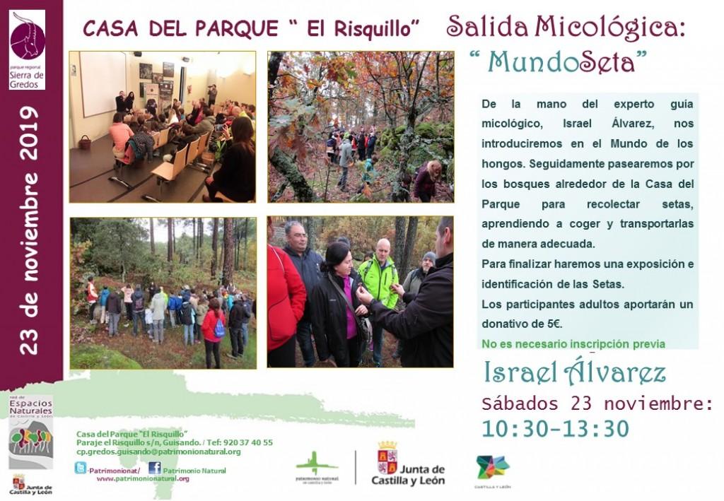 MundoSetas - Casa del Parque El Risquillo - Guisando - TiétarTeVe