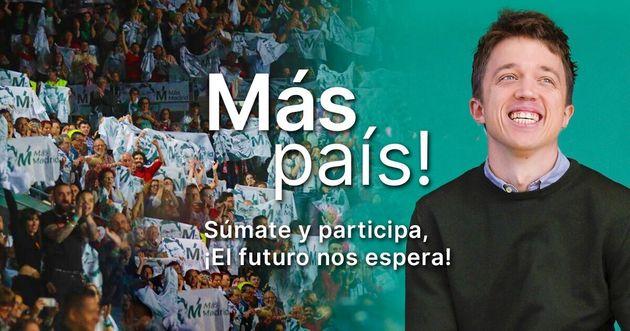 2019-11-10 Cartel Más País - TiétarTeVe