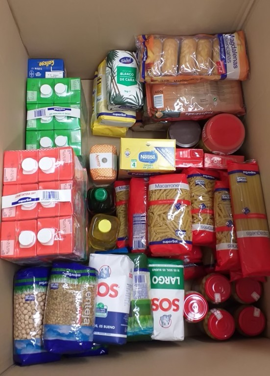 Gran Recogida de Alimentos 2019 - Arenas de San Pedro - TiétarTeVe
