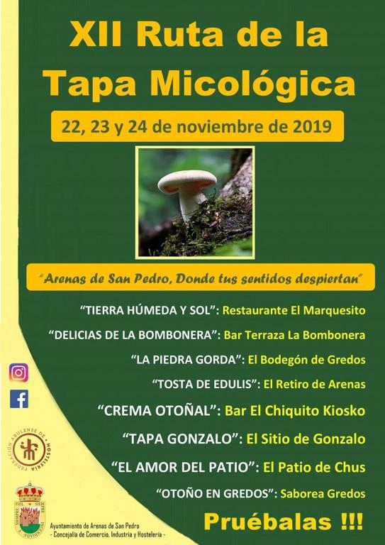 XII Ruta de la Tapa Micológica - Arenas de San Pedro - TiétarTeVe
