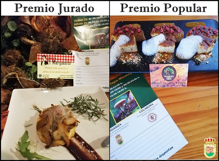 Premios Ruta Tapa Micológica Arenas de San Pedro - TiétarTeVe