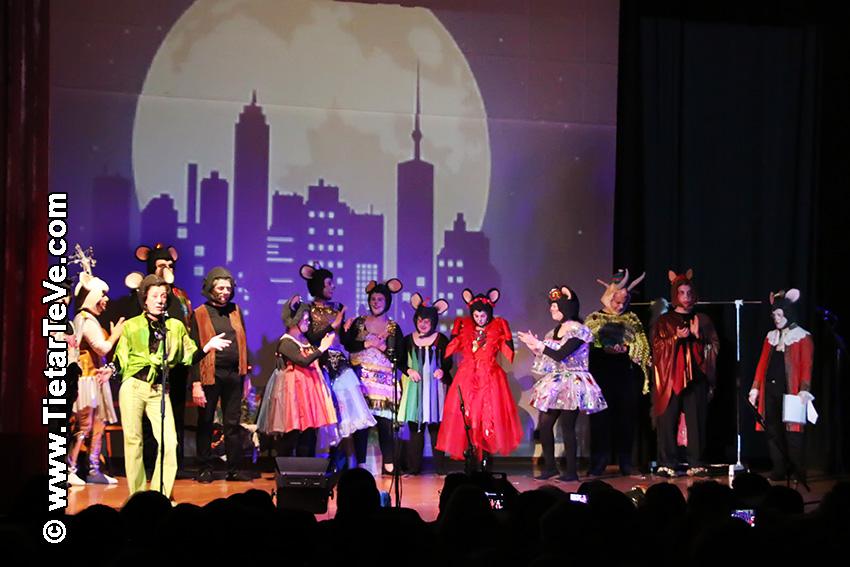 Teatro de la Asociación AREDIS  - Arenas de San Pedro - TiétarTeVe