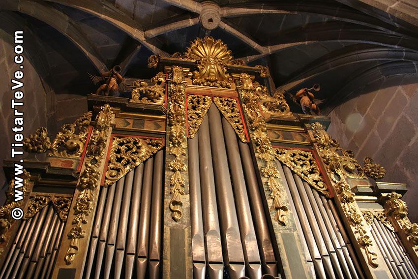 Órgano de la Iglesia de Nuestra Señora de la Asunción- Arenas de San Pedro - TiétarTeVe