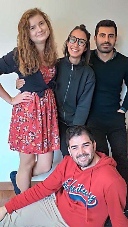 Voluntarios 2019/2020 de la Asociación Jóvenes Solidarios AJS - Arenas de San Pedro - TiétarTeVe
