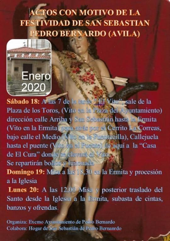 San Sebastián 2020 - Pedro Bernardo - TiétarTeVe