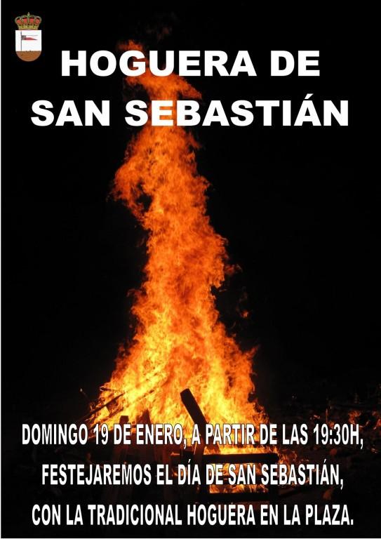 Hoguera de San Sebastián - Lanzahíta - TiétarTeVe