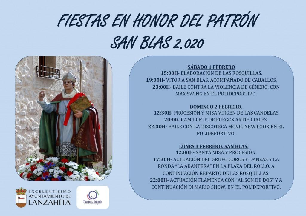 Fiestas de San Blas 2020 - Lanzahíta - TiétarTeVe