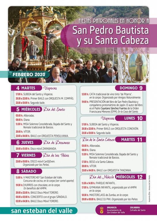 San Pedro Bautista 2020 en San Esteban del Valle - TiétarTeVe