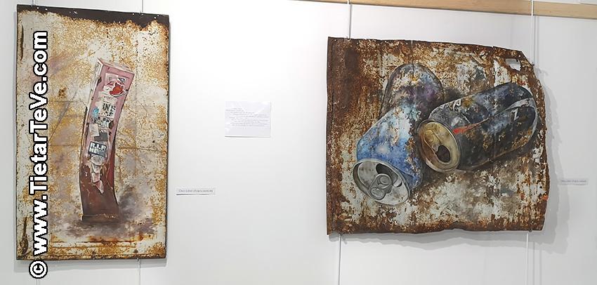 """Inauguración del Centro Cultural y de Turismo """"Alcalde Licinio Prieto"""" con obras de Alberto Illescas Moreno - Cuevas del Valle - TiétarTeVe"""