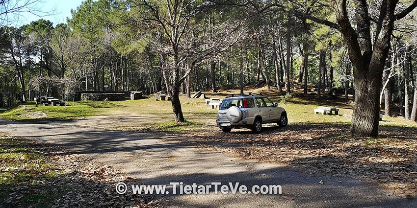 Zona recreativa - Ruta río Arbillas - TiétarTeVe