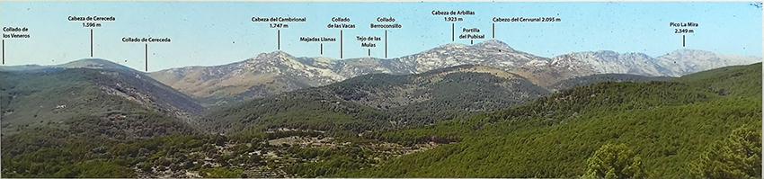 La Sierra de Gredos desde el Mirador Arbillas de Guisando - TiétarTeVe