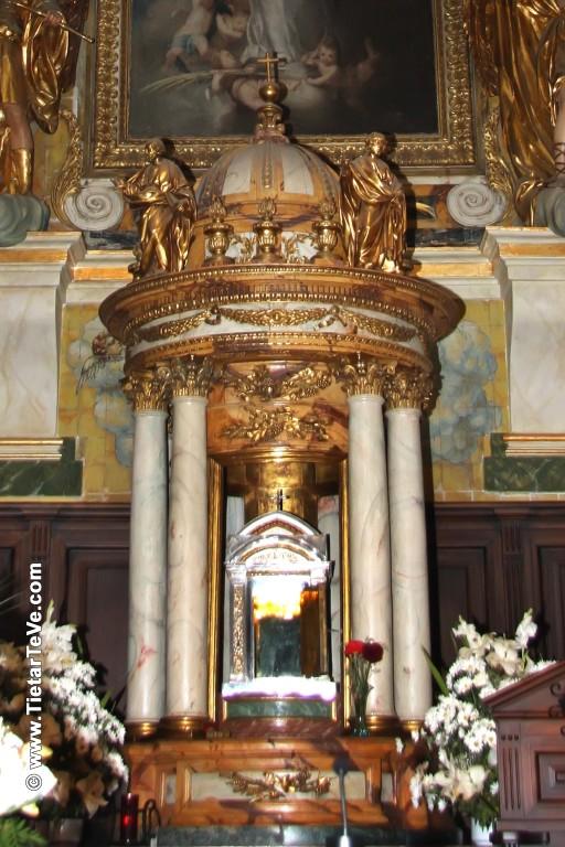 Sagrario de la Iglesia de Nuestra Señora de la Asunción de Arenas de San Pedro - TiétarTeVe