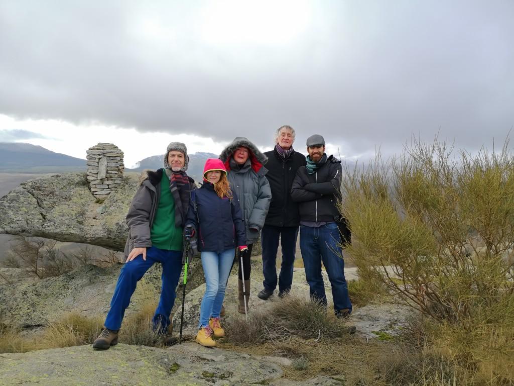 Nils-Udo visita el centro de Arte y Naturaleza Cerro Gallinero - Hoyocasero - TiétarTeVe