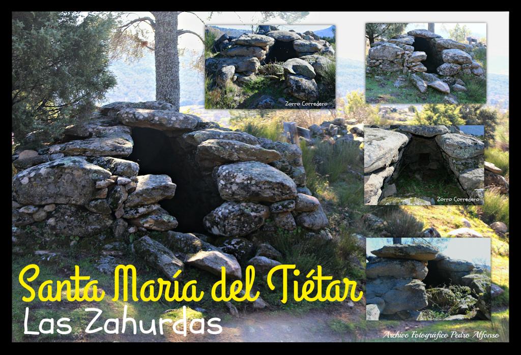 Zahúrdas de La Cancha - Santa María del Tiétar - TiétarTeVe