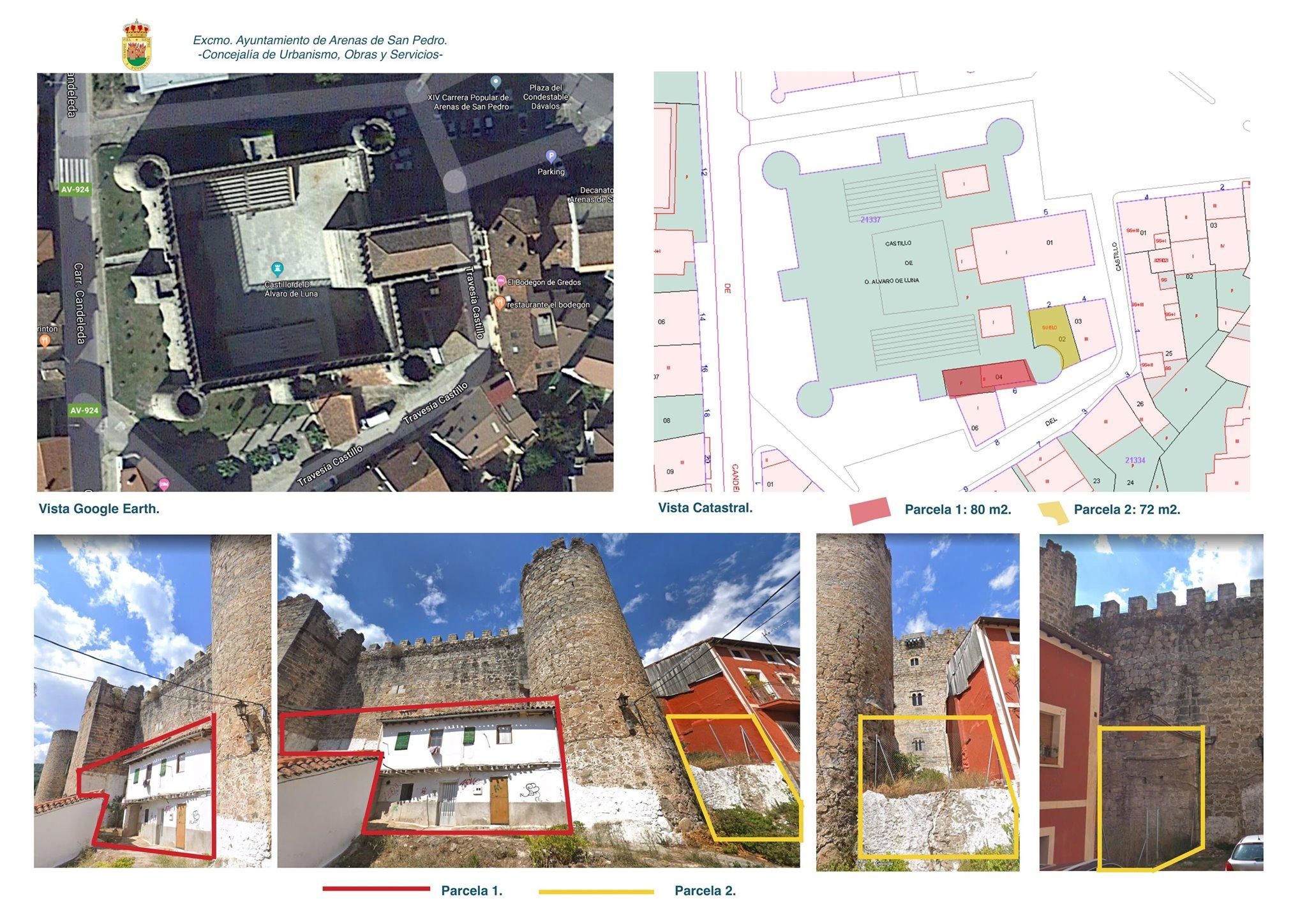 Adquisición últimas casas Castillo Condestable Dávalos - Arenas de San Pedro - TiétarTeVe