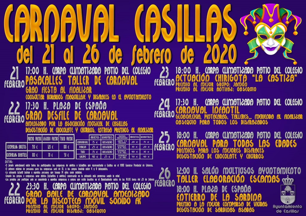 Carnaval 2020 en Casillas - TiétarTeVe