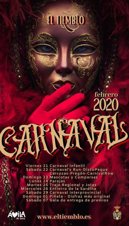 Carnaval 2020 El Tiemblo - TiétarTeVe