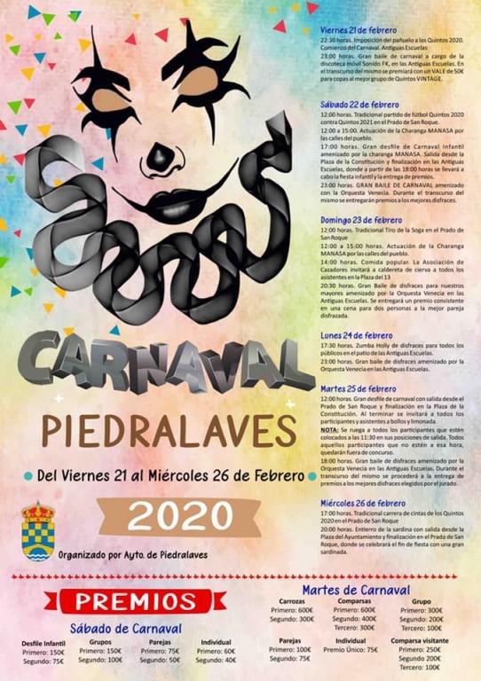 Carnaval 2020 Piedralaves - TiétarTeVe