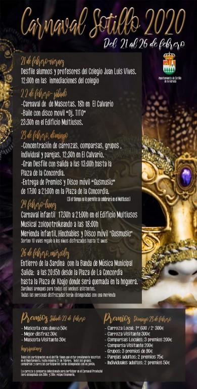 Carnaval 2020 en Sotillo de La Adrada - TiétarTeVe