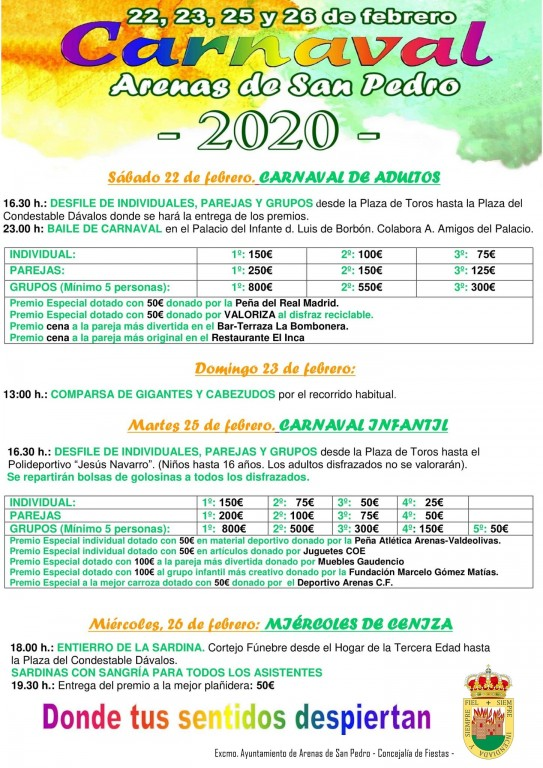 Carnaval 2020 - Arenas de San Pedro - TiétarTeVe