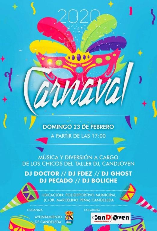 Carnaval 2020 en Candeleda - TiétarTeVe