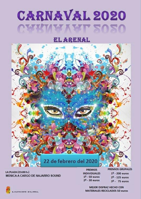 Carnaval 2020 El Arenal - TiétarTeVe