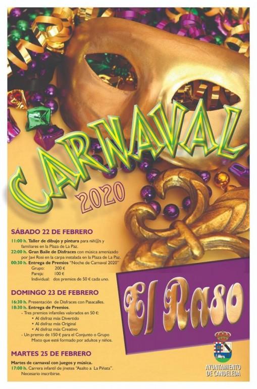 Carnaval 2020 en El Raso de Candeleda - TiétarTeVe