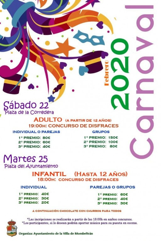 Carnaval 2020 Mombeltrán - TiétarTeVe