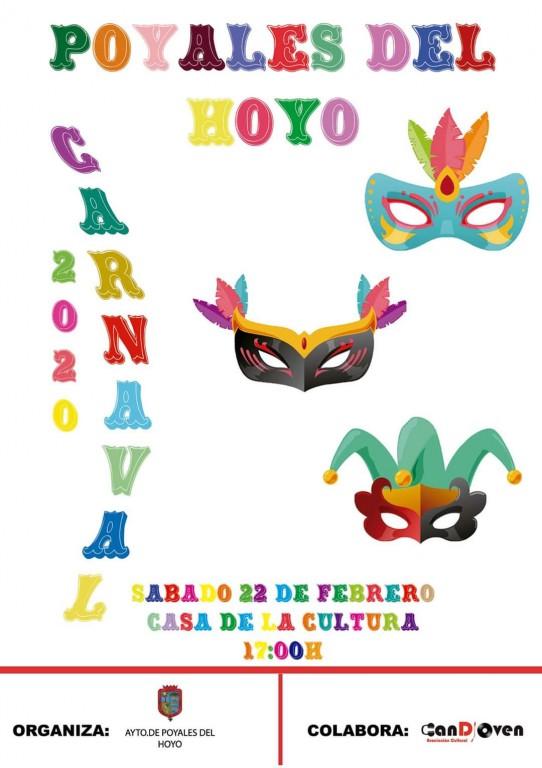 Carnaval 2020 en Poyales del Hoyo - TiétarTeVe